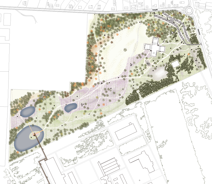 Landscape Park Plan Dessel BOOM Landscape