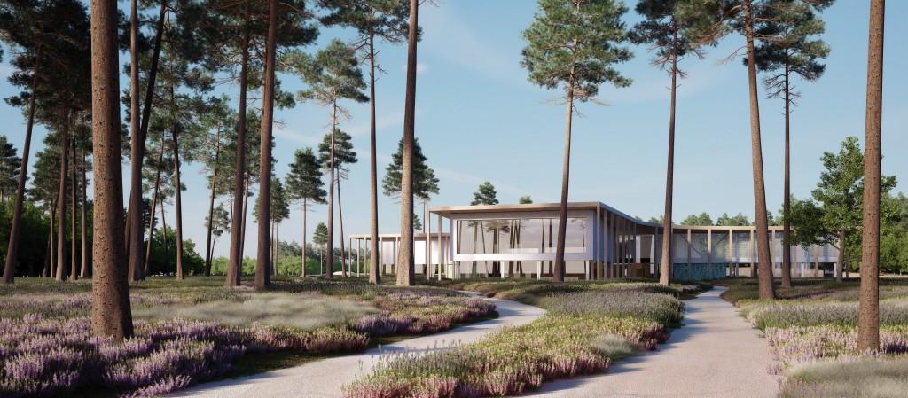 Visitors centre Dessel BOOM Landscape